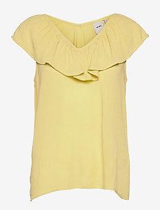 IHMARRAKECH SO TO3 - short-sleeved blouses - golden mist