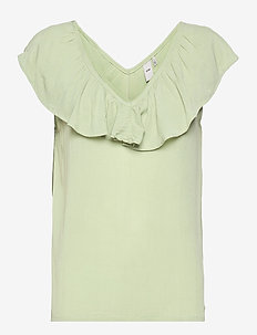 IHMARRAKECH SO TO3 - short-sleeved blouses - swamp
