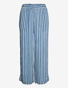 IHMARRAKECH AOP PA - casual trousers - coronet blue
