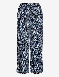 IHMARRAKECH AOP PA - casual trousers - total eclipse