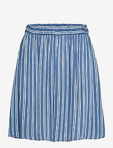 IHMARRAKECH AOP SK - short skirts - coronet blue