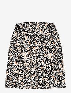 IHMARRAKECH AOP SK - short skirts - tan
