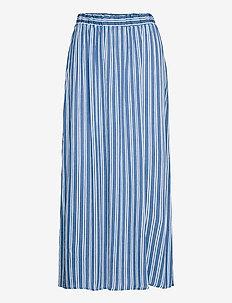 IHMARRAKECH AOP SK3 - midi skirts - coronet blue