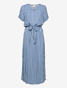 IHMARRAKECH AOP DR - midi dresses - coronet blue