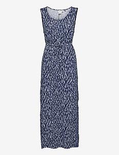IHLISA DR13 - maxi dresses - cashmere blue