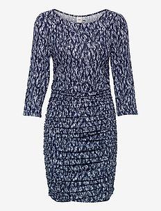 IHLISA DR14 - midi dresses - cashmere blue