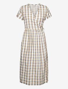 IHJULYA DR - summer dresses - tan