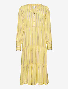 IHFLORINDA DR - midi dresses - golden mist
