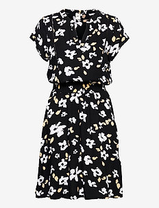 IHFLORENTINA DR - summer dresses - black