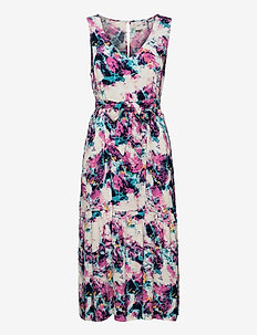 IHARANI DR - summer dresses - wild orchid