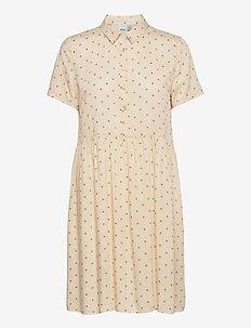 IHFARICE DR2 - summer dresses - tapioca