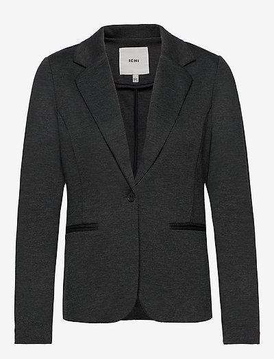 IHKATE BL - casual blazere - dark grey melange