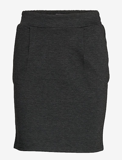 IHKATE SK - korte nederdele - dark grey melange