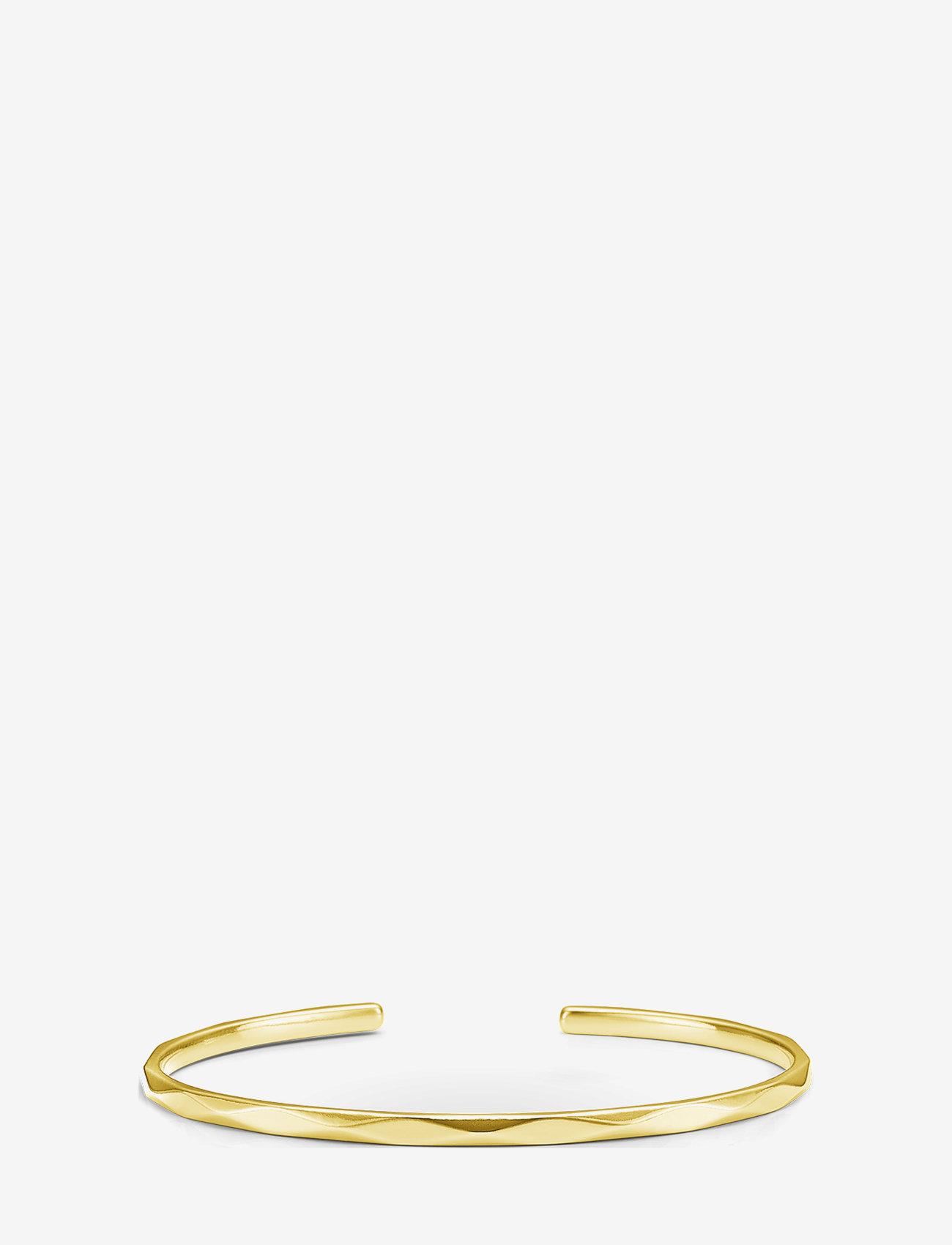 ID Fine Jewelry - Harlequin Bangle Gold - bangles - gold - 0