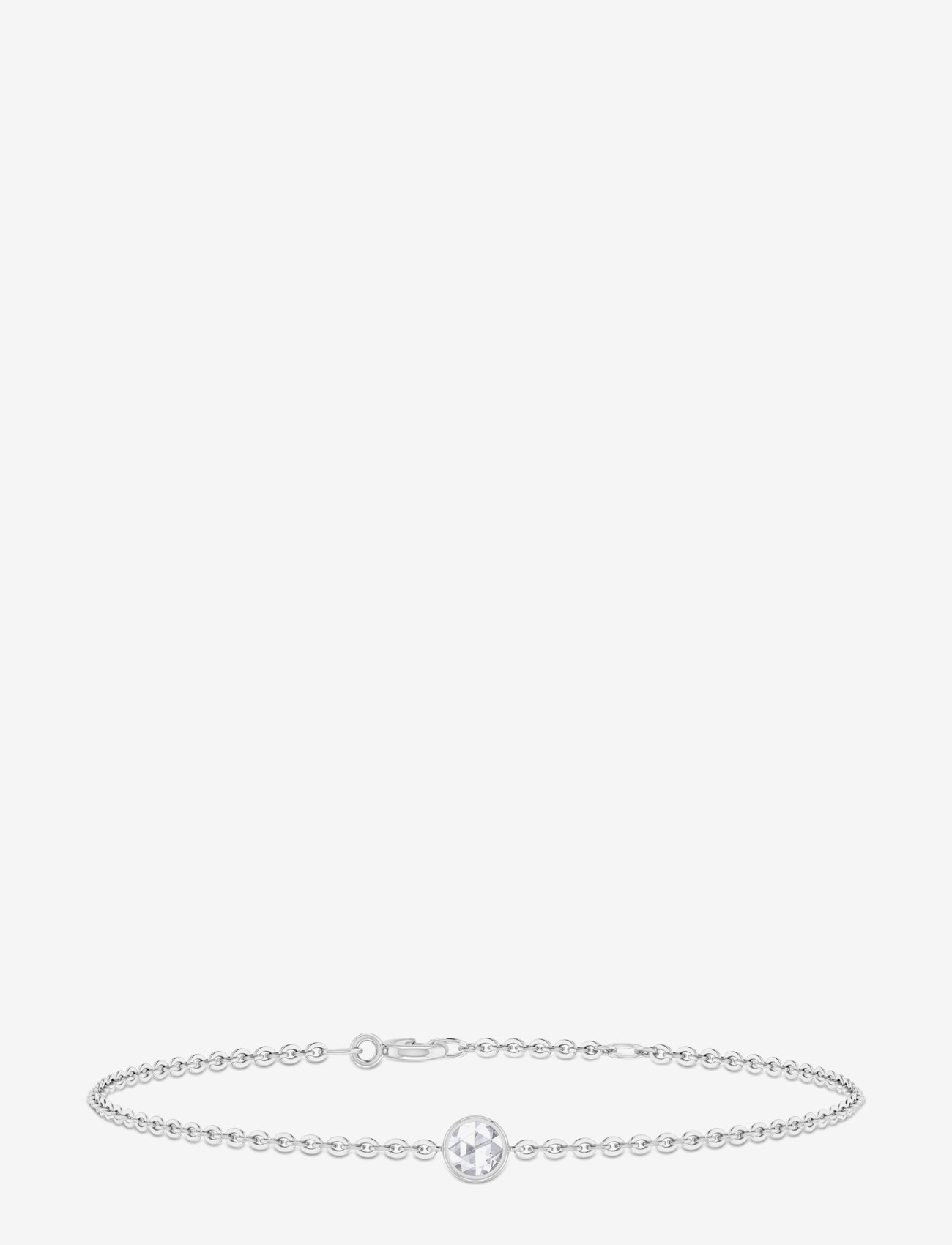 ID Fine Jewelry - Rose Bracelet - dainty - silver - 0