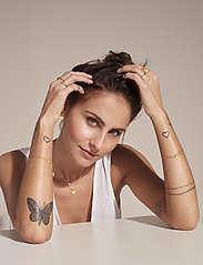 ID Fine Jewelry - Cresent Moon Bracelet - dainty - gold - 0