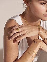ID Fine Jewelry - Cresent Moon Bracelet - dainty - gold - 3