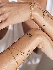 ID Fine Jewelry - Cresent Moon Bracelet - dainty - gold - 4
