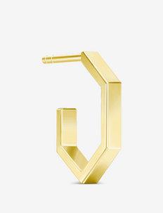 Bolt Mini Hoop  Gold - hopen - gold