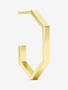 Bolt Medium Hoop  Gold - hopen - gold