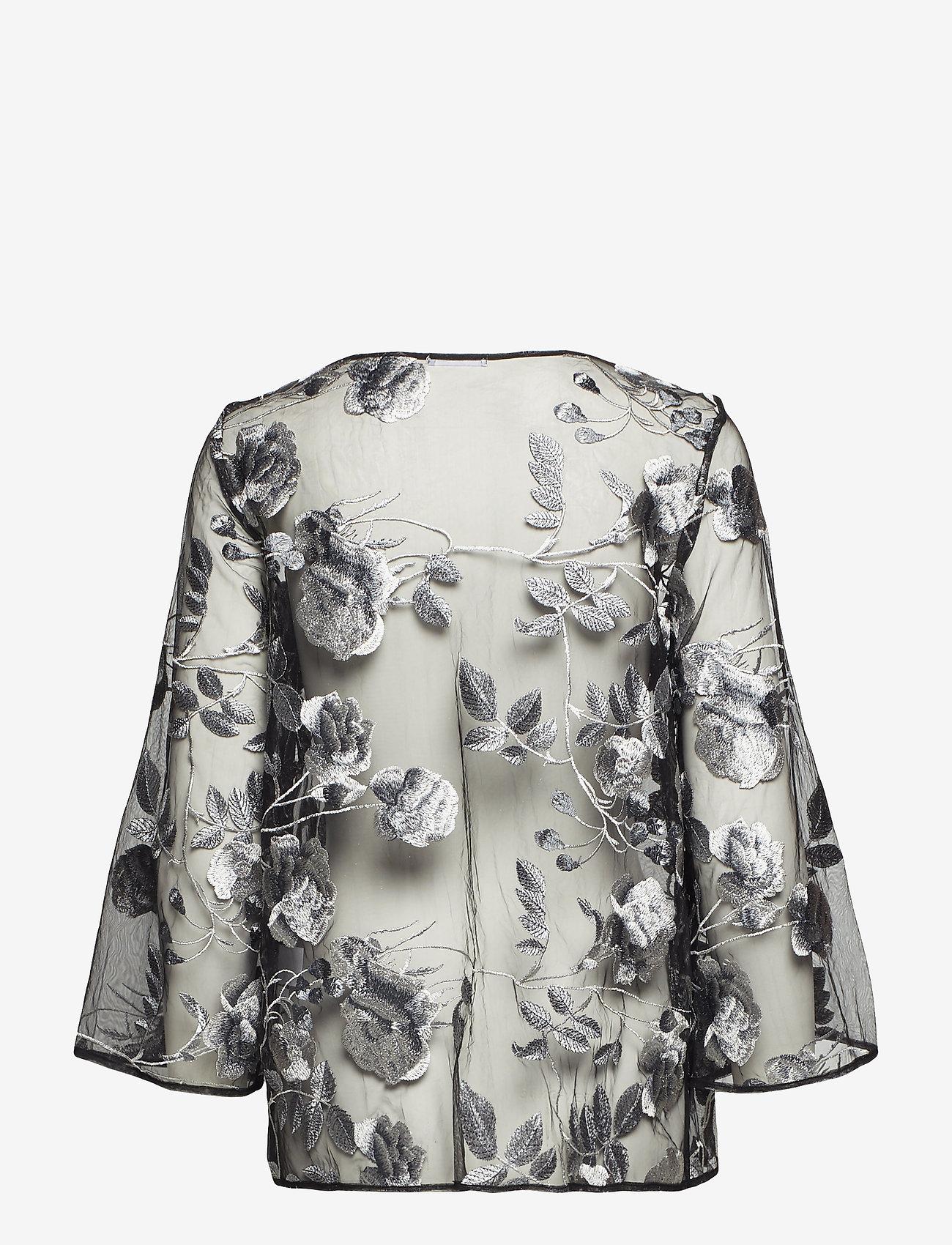 Ida Sjöstedt - Artisan Top - long sleeved blouses - black