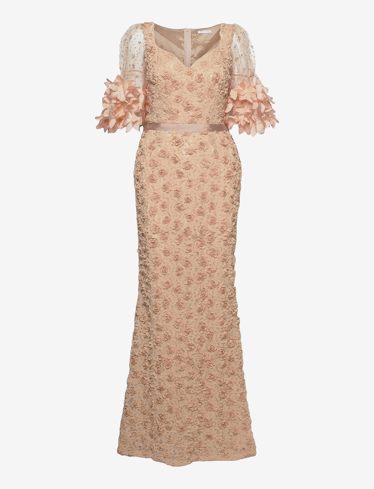 Ida Sjöstedt - Dinara dress - sukienki wieczorowe - beige - 1