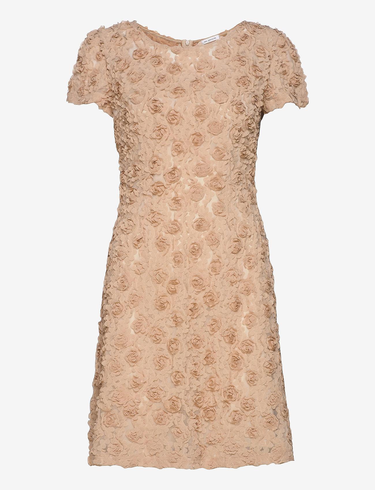 Ida Sjöstedt - Sierra dress - cocktail-kjoler - beige - 1