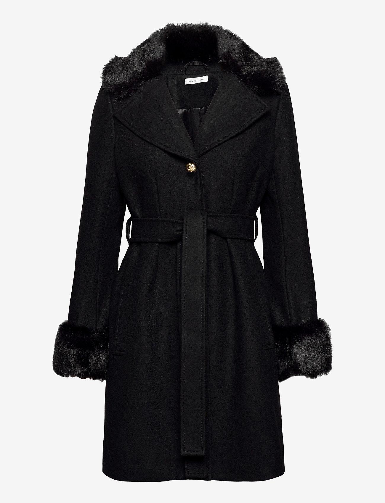 Köp Ida Sjöstedt Zoey Coat Black | Jackor