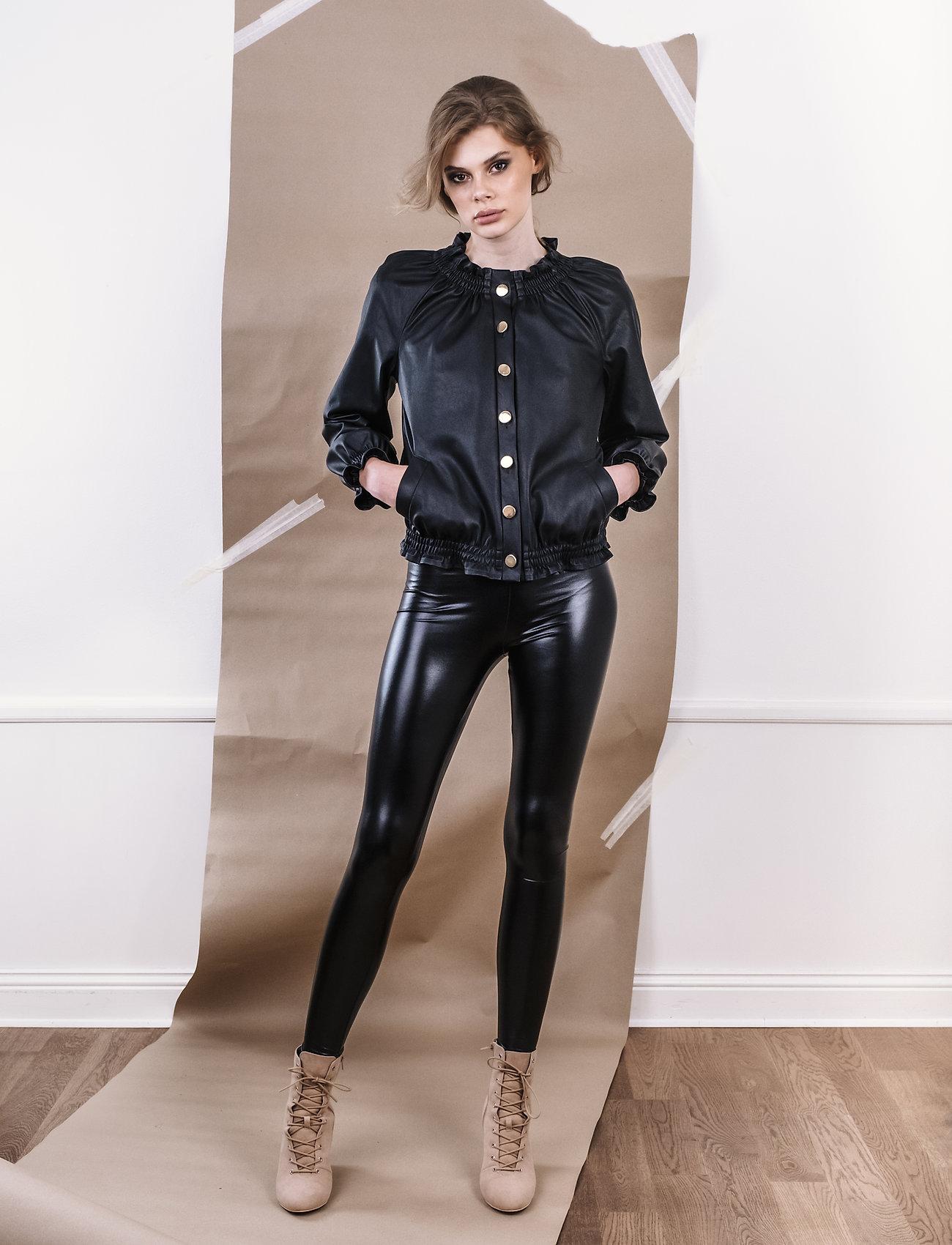 Ida Sjöstedt - Laurel Jacket - nahkatakit - black - 0