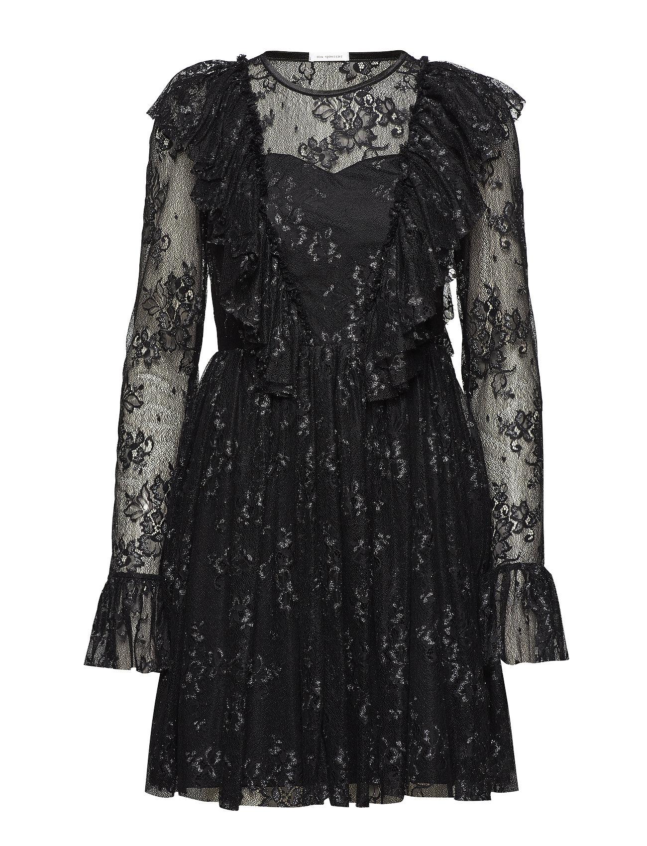 Ida Sjöstedt Lucky Dress - BLACK/SILVER