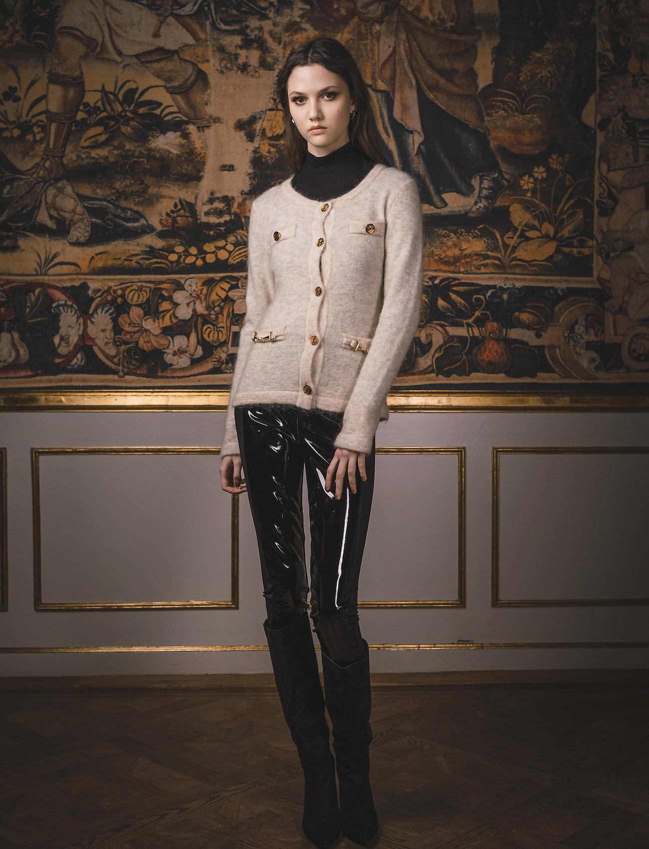 Ida Sjöstedt - Noble Cardigan - cardigans - beige - 0