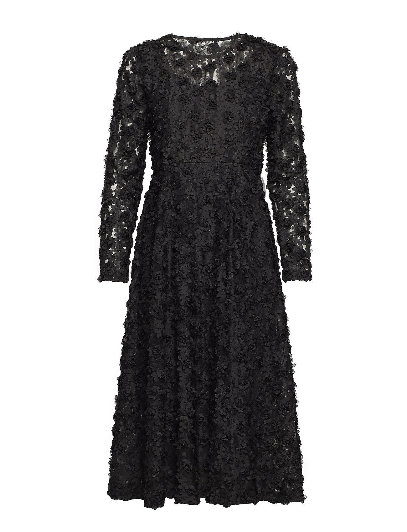 Ida Sjöstedt Rose Dress - BLACK