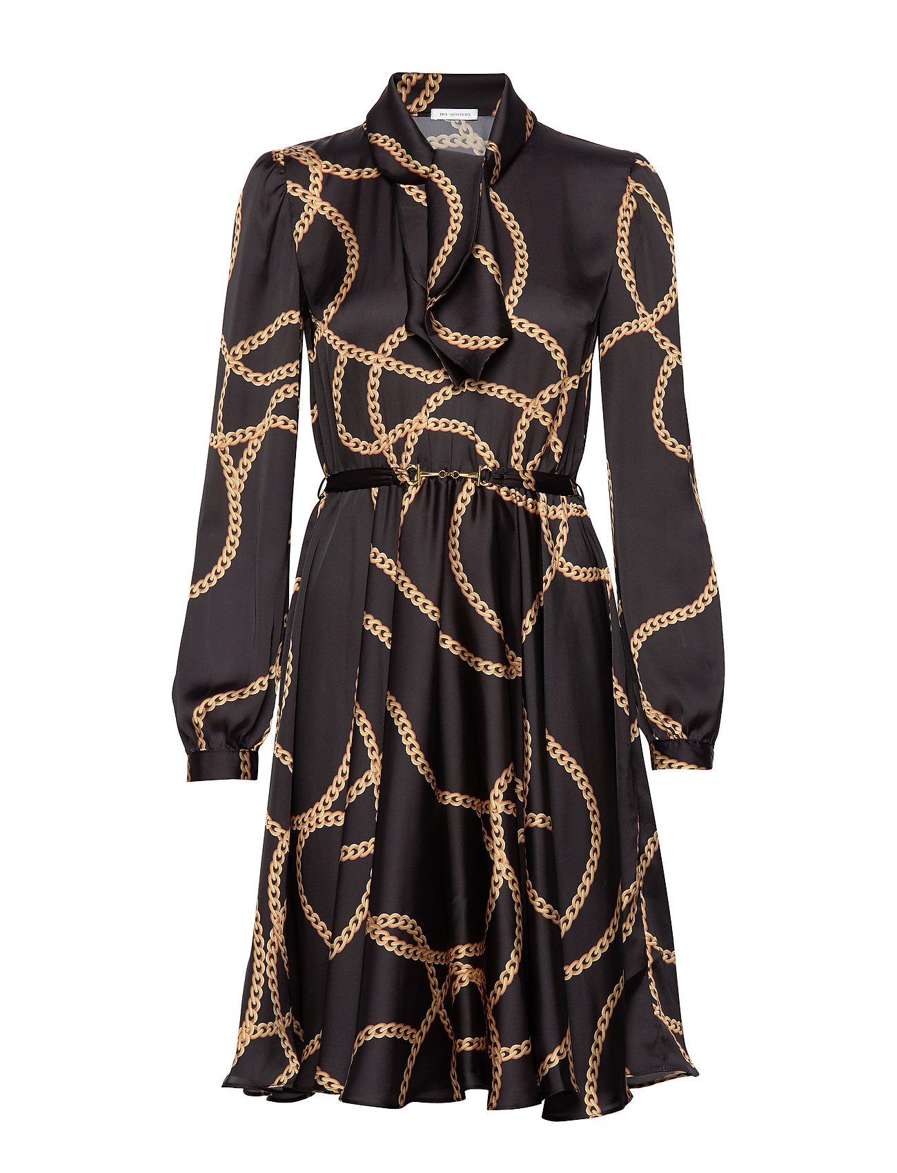 Ida Sjöstedt Shiver Dress - BLACK/GOLD