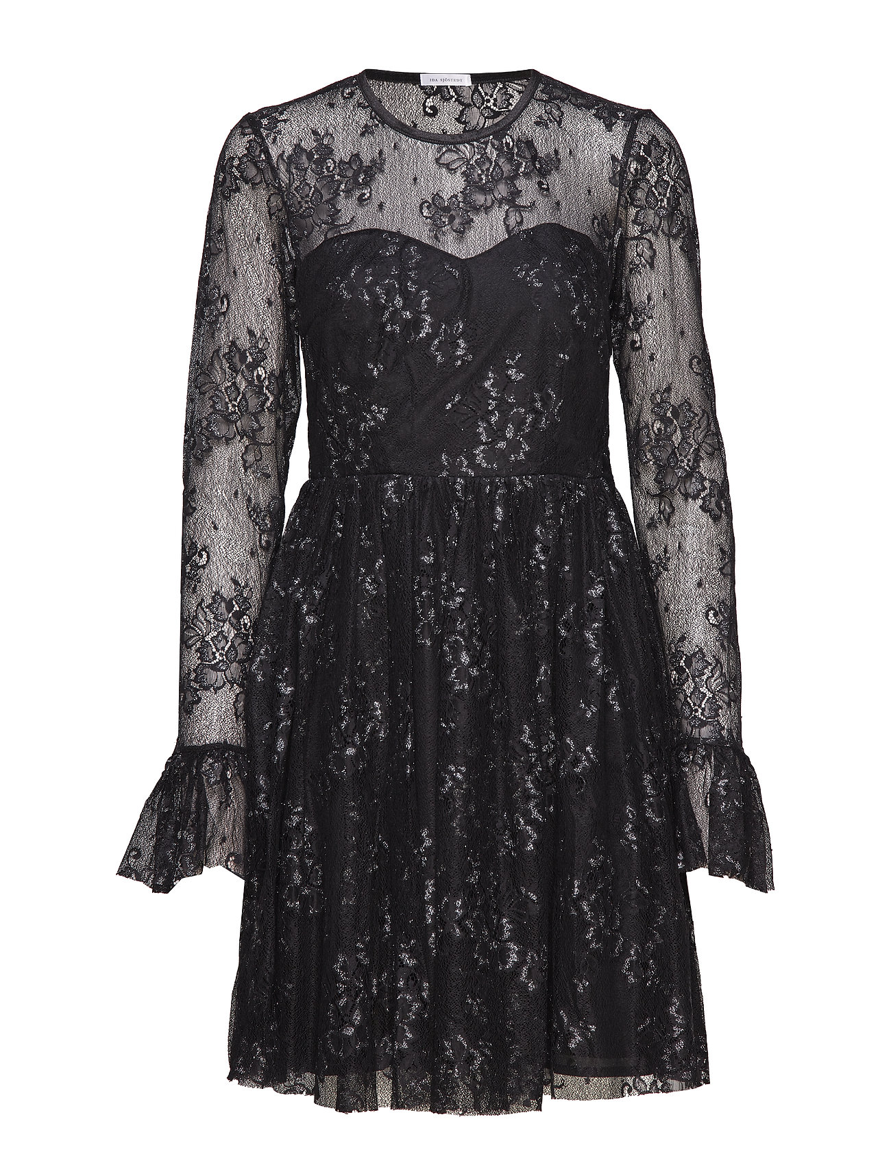 Ida Sjöstedt Tilly Dress - BLACK/SILVER