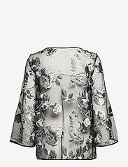 Ida Sjöstedt - Artisan Top - long sleeved blouses - black - 1