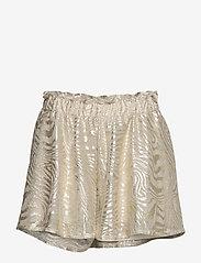 Ida Sjöstedt - Cat Shorts - casual shortsit - grey/gold - 1