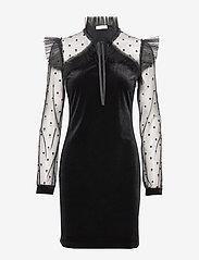Ida Sjöstedt - Fabulous Dress - kurze kleider - black - 0