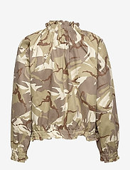 Ida Sjöstedt - Laurel Jacket - leather jackets - camo sand - 2