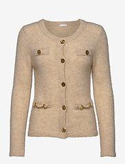 Ida Sjöstedt - Noble Cardigan - cardigans - beige - 1