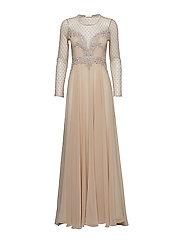 Alicia Dress - BEIGE