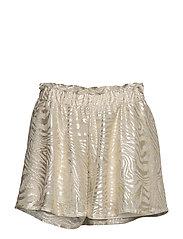 Cat Shorts - GREY/GOLD