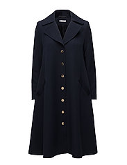 Elle Coat - Navy