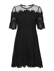 Eugenie Dress - BLACK