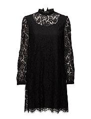 Hannah Dress - BLACK