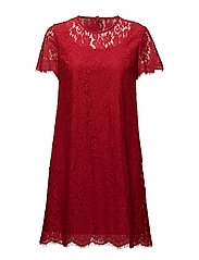 Helena Dress - Red