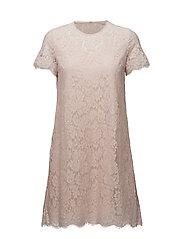 Helena Dress - Soft pink