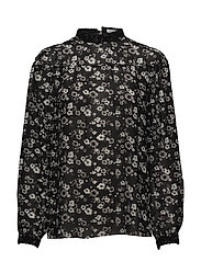 Hurricane Blouse - BLACK