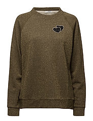 Joey Sweater - GREEN/GOLD