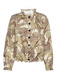 Laurel Jacket - CAMO SAND