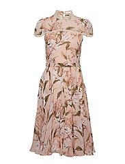 Liv Dress - BEIGE FLORAL